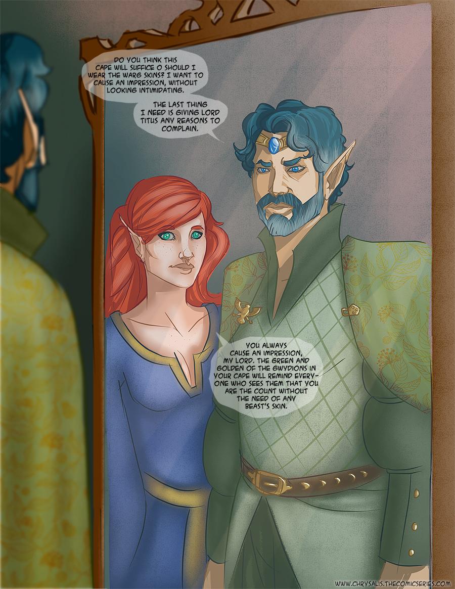 Chapter 1: Awkward visitors 6