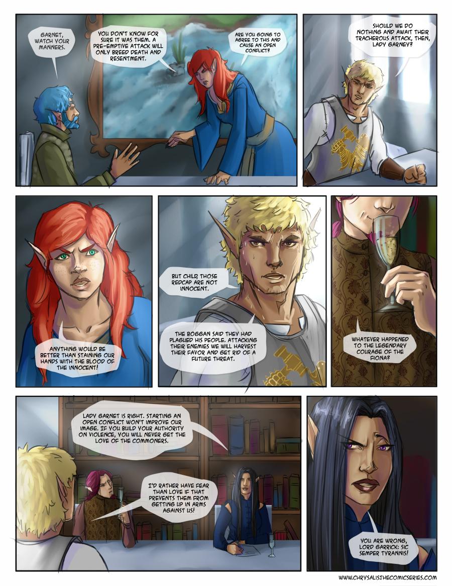 Chapter 1: Awkward visitors 14