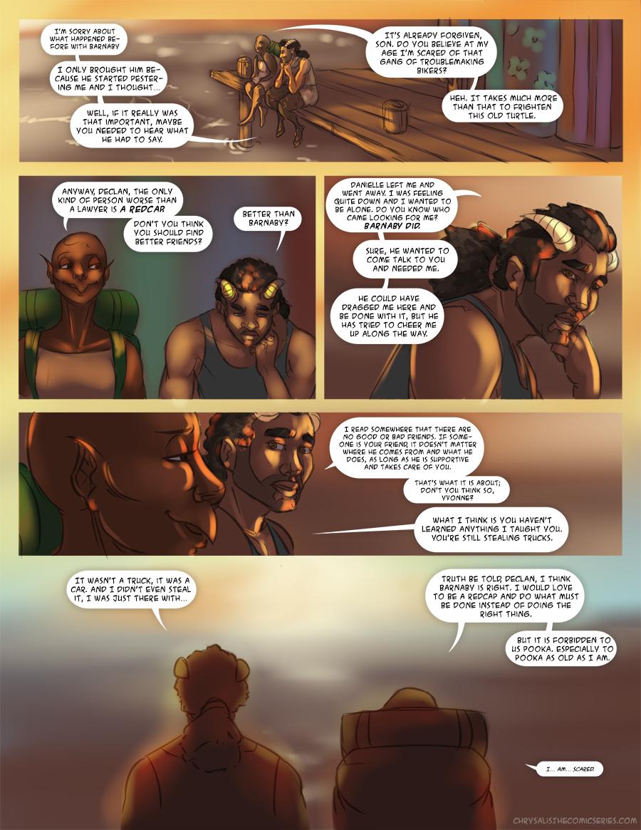 Chapter 1: Awkward visitors 16