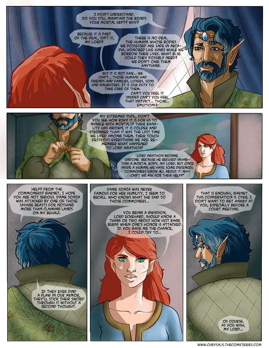 Chapter 1: Awkward visitors 8